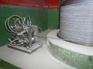 China Wear - Resistant  Dry / Wet Wire Drawing Machine Parts With Spring Wire / Wire Rope on sale