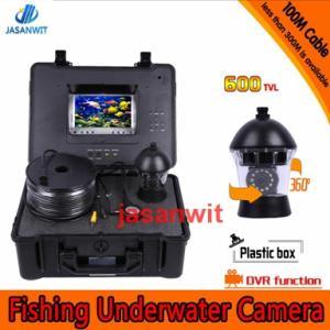 China panning camera 100m underwater camera 360 degree rotative camera Underwater fishing camera on sale