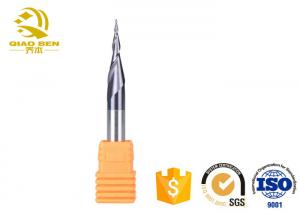 China Milling Machine Tapered End Mill Cutter Carbide Metal Cutting Tools AlTiN Coating on sale