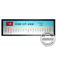 China 19.7 inch Stretched LCD Display Monitor  input Ultra wide Bar Media Player on sale