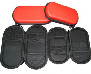 China Red Waterproof Unique EVA Pouch / E-go Zipper PU For Cigarette on sale