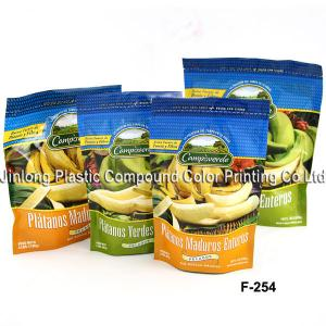 China Frozen Food Packaging Plastic Bags With Food Grade To Banana on sale