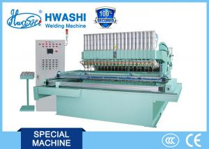 China Hwashi Mobile Multipoint Special Stainless Steel Welding Machine 300-800mm Throat Depth with one year warranty on sale