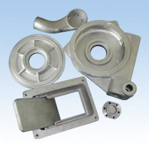 China High Performance Aluminum Die Casting Parts / Custom Motor Spare Parts on sale