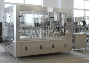 China Carbonated Drinks Filling Machine / Soda Water Bottling Machine / Soft Drink Bottling Plant on sale