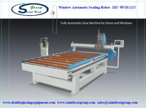 China CE Window Frame Automatic Sealing Machine / Robot with one year Warranty on sale