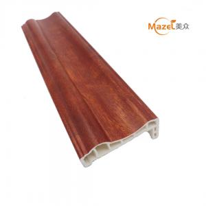 China pvc laminated decorative line for window door frame on sale