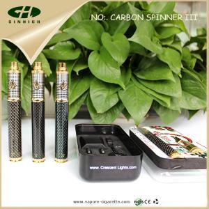 China Vision Spinner3 1600mah E Cig Battery Carbon Fiber Vision Spinner PCB Control on sale
