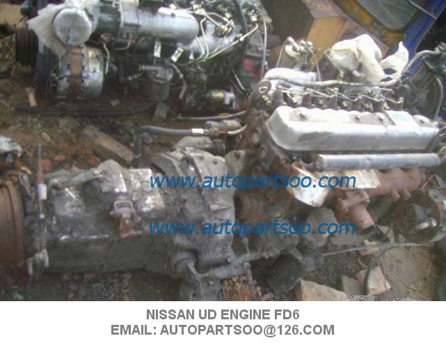 NISSAN UD ENGINE FE6 ENGINE, USED ENGINES for sale – USED JAPAN