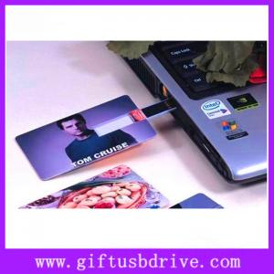China OEM colors printing and super thin USB card full capacity 4G,8G,16G on sale
