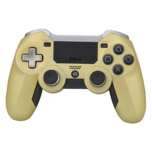 Quality Elite Ps4 Wireless Joystick Non - Slip Surface Gold Color USB Cable Game for sale