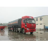 China 30000L -45000L Capacity Chemical Tanker Truck for Fluosilicic Acid / Hexafluorosilicic Acid on sale