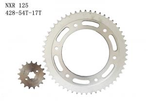 China Rear / Front Motorcycle Sprocket Chain Anti - Extension With 3 Years Warranty on sale
