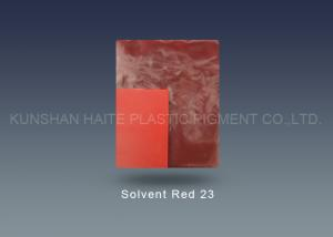 China CAS 85 86 9 Solvent Dye , Solvent Red 23 Synonym Sudan Ⅲ PH Value 6.5-7 on sale