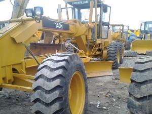 China 140H Used motor grader caterpillar cat grader for sale  motor grader for sale  motor grader operation  types of on sale