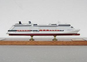 China Scale 1:900 Pretty 3d Ships Models , Solstice Class Celebrity Silhouette Cruise Ship Model on sale