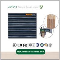 high gloss wood grain uv coated plywood