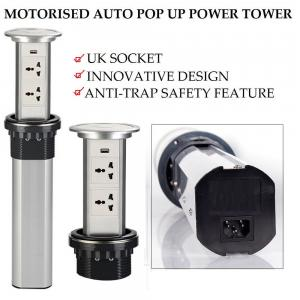 China Anti - Trap Motorized Pop Up Socket Easy To Install Innovative Design on sale