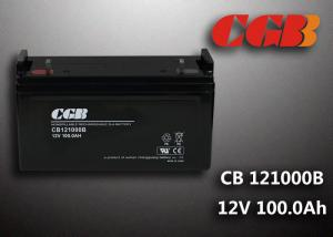 China Sealed CB121000B 12V 100Ah Rechargeable Lead Acid Battery Power Back up Application on sale