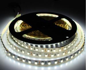 China IP20 Narrow side 5mm LED Strip Light 2835 SMD flexible diode tape lamp White/black PCB 120leds/m DC12V tiras led ribbon on sale
