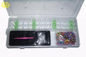 China Colorful DIY Rainbow Loom Band With 600 pcs Loops on sale