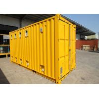 China Insulated Cargo ISO Modified Shipping Containers Garage For Public Washroom on sale