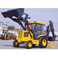 70KW Power Tractor Backhoe Loader  XT870 , 0.3 m3 Rated Digging Backhoe Machine