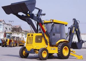China 70KW Power Tractor Backhoe Loader  XT870 , 0.3 m3 Rated Digging Backhoe Machine on sale