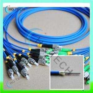 China 12Core FC/FC Armored Fiber Optic Patch Cable on sale