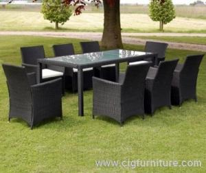 China Outdoor Furniture  Used for Garden Dinner  Can Be Have Harty  Protection Enviroment on sale