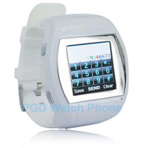 China Promotional Gift Watches With Clock Phone / Fashion Watch Phone / Dual Sim Card Phone on sale