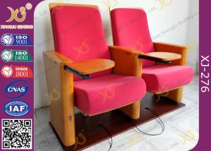 China Church Type / Theater Type Theater Seating Furniture With USB Port Phone Recharge on sale