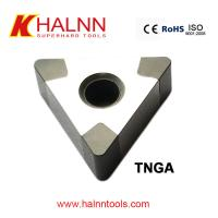 Halnn CBN insert Finish Turning Bearings with GCr15 Materials BN-H11 CBN Cutting Tools