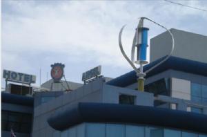 China Intetek 1000W 48V Maglev Wind Generator , Wind Turbine Solar Flat Roof System on sale