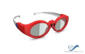 Quality Verres du lien 3D de DLP d'enfants rechargeables pour le système de cinéma de for sale