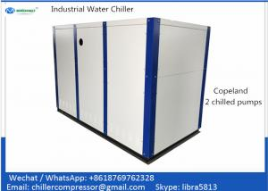 30 tons Package Water Cooled Scroll Chiller with Copeland