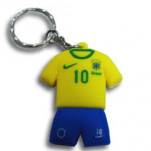 China 2014 World Cup Brazil Souvenirs Football Shoe Key Ring With PVC & PU on sale