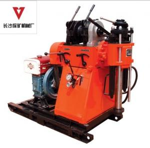 China Large Torque Water Well Core Drill Rig Equipment Depth 150 - 250m on sale