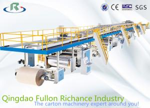 China 3/5/7-layer High Speed Automation Computerised Corrugated Carton Production Line for Paperaboard Cardboard Making on sale