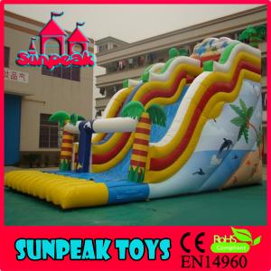 China SL-217 Giant Commercial Inflatable Slide For Sale on sale