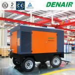 Diesel Portable Mobile Screw Air Compressors for Underground Drilling Equipment