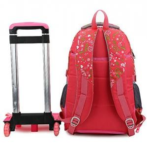 Quality Hear Transfer Print Lovely Kids Trolley School Bag In Rose Cartoon  Style for sale ... 2dbe6a9027bf4