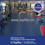 Commercial rubber sports flooring for gym court