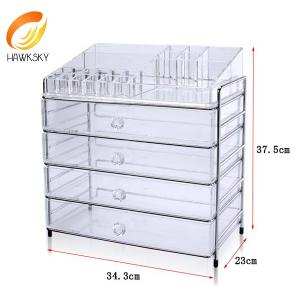 China Wholesale Price Acrylic Furniture Acrylic Tray Acrylic Storage Box on sale
