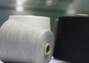 China Grade AAA Ring Spun Polyester Yarn 18S 21S 32S For Knitting And Weaving on sale