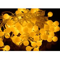 50LED Ball Solar Christmas String Lights, Solar Powered Patio String Lights for Home Garden Lawn Party Decorations