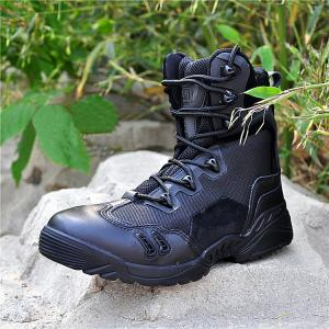 China New hot sale Tactical leather boot/army boot on sale