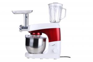 China 5L S / S Bowl Electric Food Mixer , Restaurant Stand Mixer 1000W Easy Operation on sale