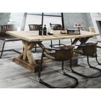 China 1.8M Length Solid Wood Dining Table , 4 Chair Dining Table Set For Hotel / Home on sale