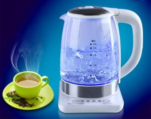 China Glass Electric Kettle 2.0 liter adjustable temperature keep warm on sale